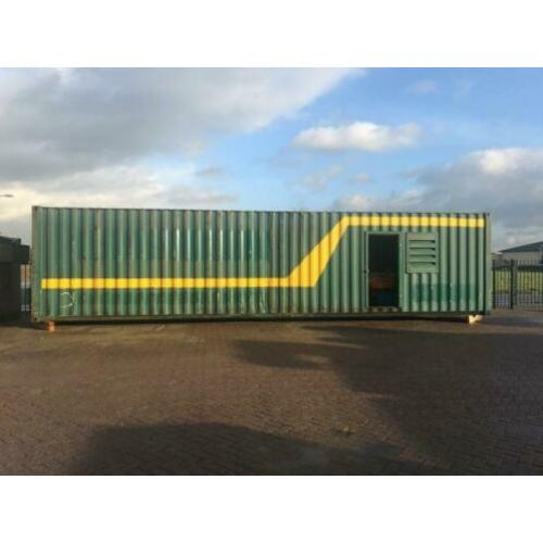 DAF 1160 125 kVA Supersilent generatorset in 40 ft container