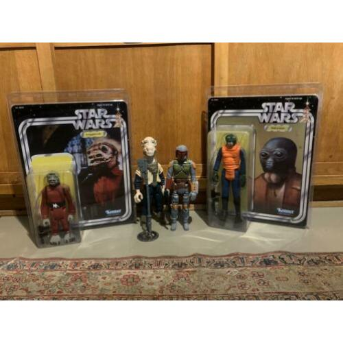 4 Gentle Giant figuren Star Wars Vintage Look
