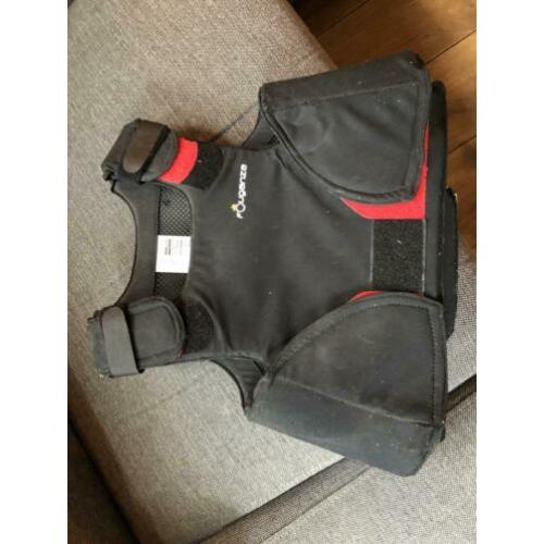 Bodyprotector kind 8-10 jaar fouganza decathlon
