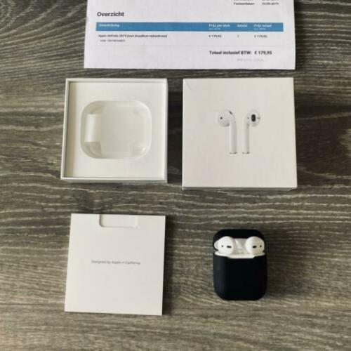 Apple airpods 2 + wireless oplaad case