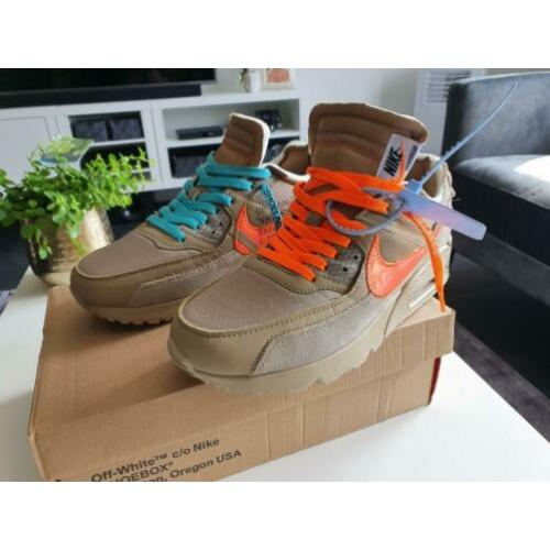 Nike air max 90 off white dessert ore