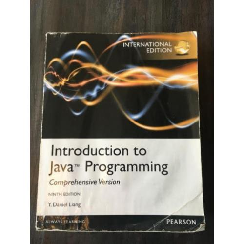 Introduction to Java Programming 9780273771388